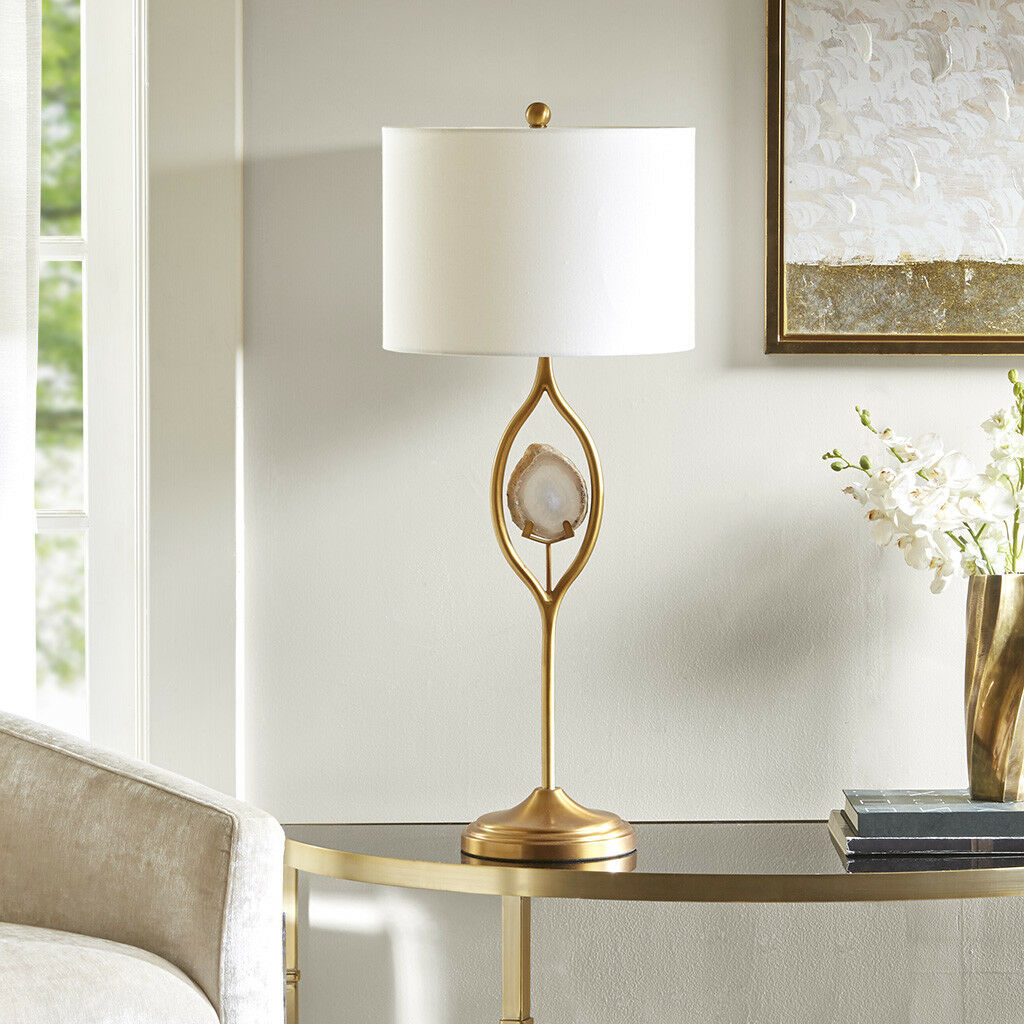Olliix Madison Park Carla Table Lamp Gold Mp153 0127 Ebay 3way Touch Sensor Switch Control 110 220v Desk Light Bulb Dimmer Norton Secured Powered By Verisign