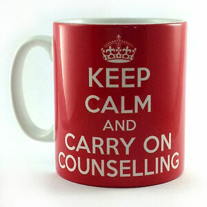 NEW-KEEP-CALM-AND-CARRY-ON-COUNSELLING-GIFT-MUG-CUP-COUNCILLOR-THERAPIST-PRESENT
