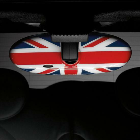 MINI Cooper Rearview Rear View Mirror Cover Union Jack New OEM