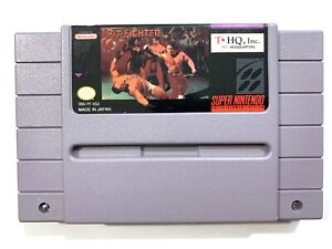 Pit-Fighter-Pitfighter-SNES-Super-Nintendo-Game-Tested-Working-amp-Authentic