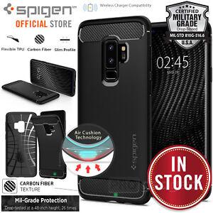 Genuine-SPIGEN-Rugged-Armor-Cover-for-Samsung-Galaxy-S9-8-Plus-S7-Edge-Case