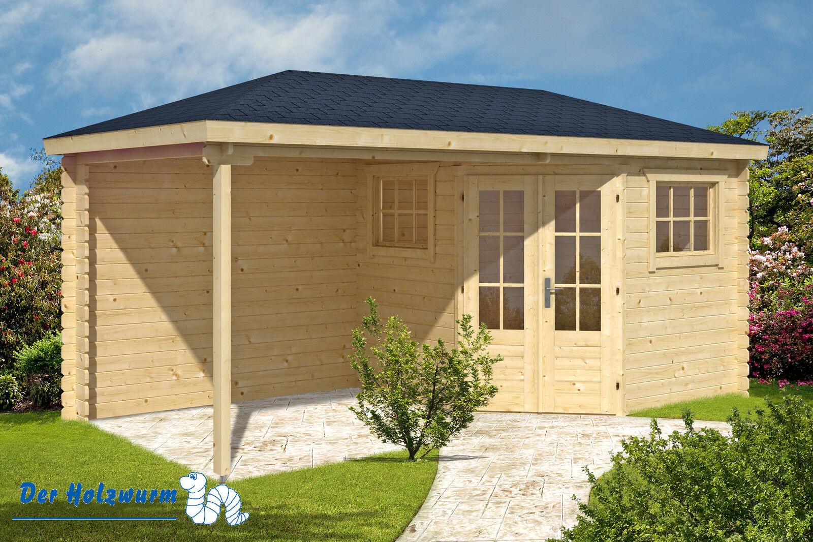 28 mm gartenhaus rianne ca 500 x 250 cm blockh tte ger tehaus holzhaus schuppen. Black Bedroom Furniture Sets. Home Design Ideas