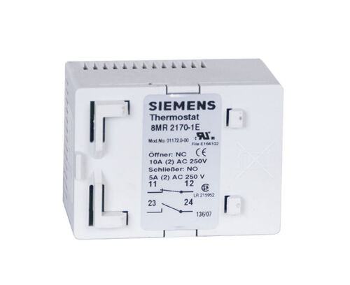 SIEMENS THERMOSTAT 8MR2170-1E Zwillings Thermostat 0 bis 60° C