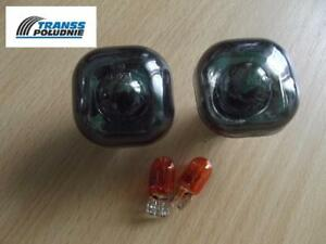 SMOKED-SIDE-LIGHT-REPEATER-INDICATORS-SET-AUDI-A3-A4-A8-SKODA-FABIA-OCTAVIA