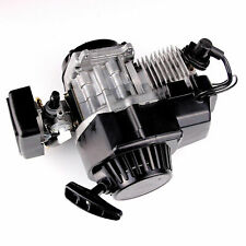 49CC 2 STROKE ENGINE MOTOR w/ Carburetor Pull Start MINI POCKET BIKE H EN02
