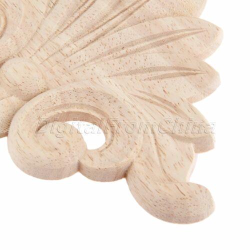 Caoutchouc bois sculpté Decal mur greffe apposée Cadre tiroir appliqué Moulures De Décoration