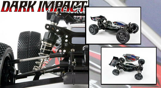 Tamiya 58370 Dark Impact DF03 Radio Control RC Kit WITH Tamiya ESC Unit Car