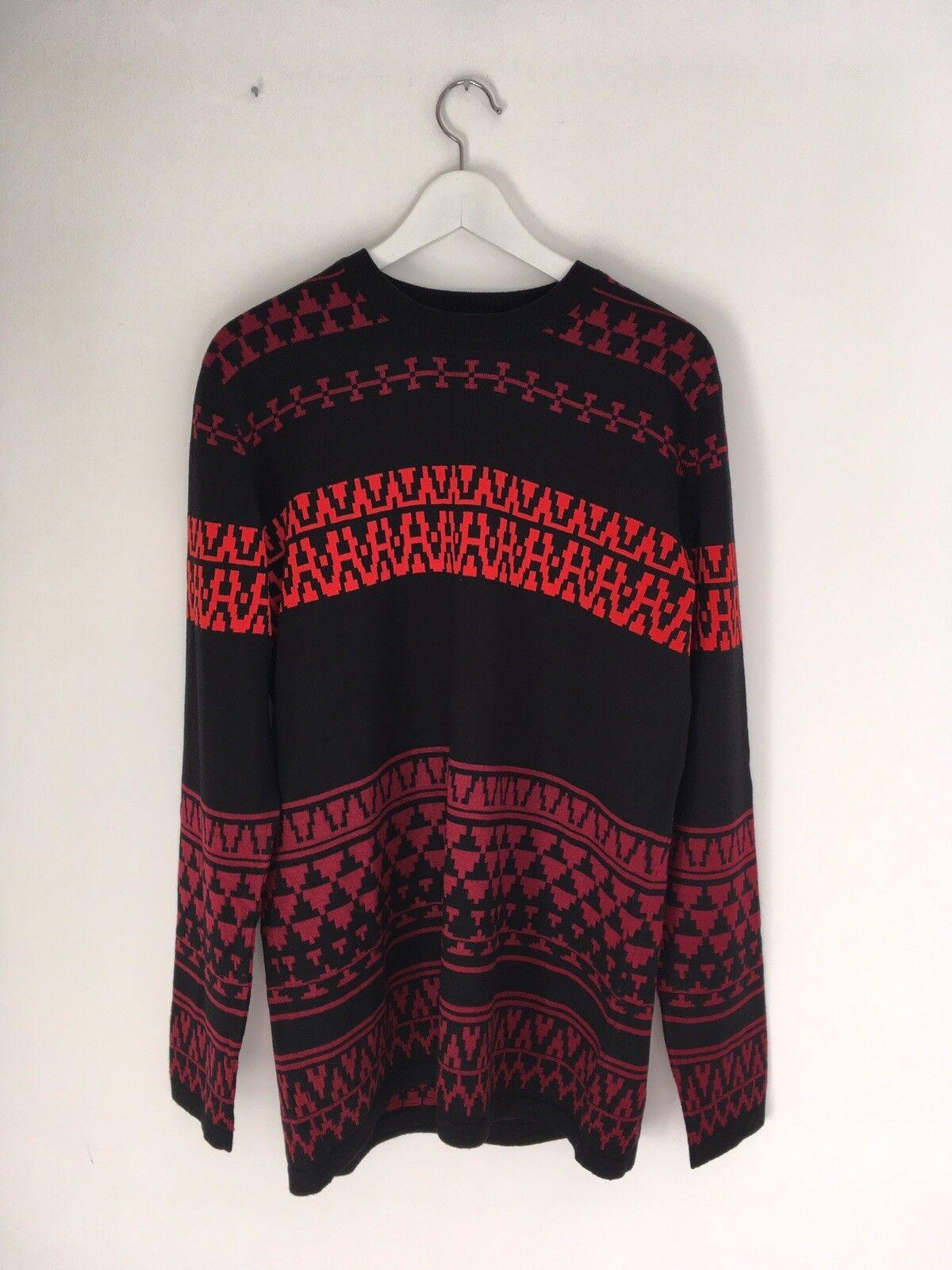 McQ Alexander McQueen • Mens Knitwear Jumper • 100% Wool • Größe L • Brand NEW