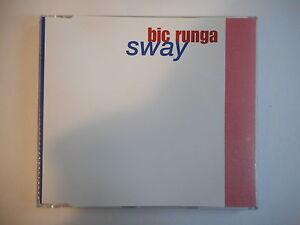 BIC RUNGA : SWAY [ RARE PROMO - CD-MAXI PORT GRATUIT ]