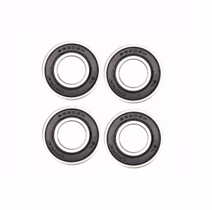 Set of 4 Precision Sealed Bearings 5//8 ID x 1-3//8 OD x 7//16 Thick
