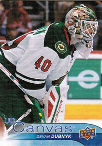 16-17-2016-UPPER-DECK-SERIES-1-HOCKEY-UD-CANVAS-CARDS-C45-C90-U-Pick-From-List