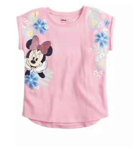 f5df9a9cd New With Tag Disney's Minnie Mouse Girls Graphic Tee By Jumping ...