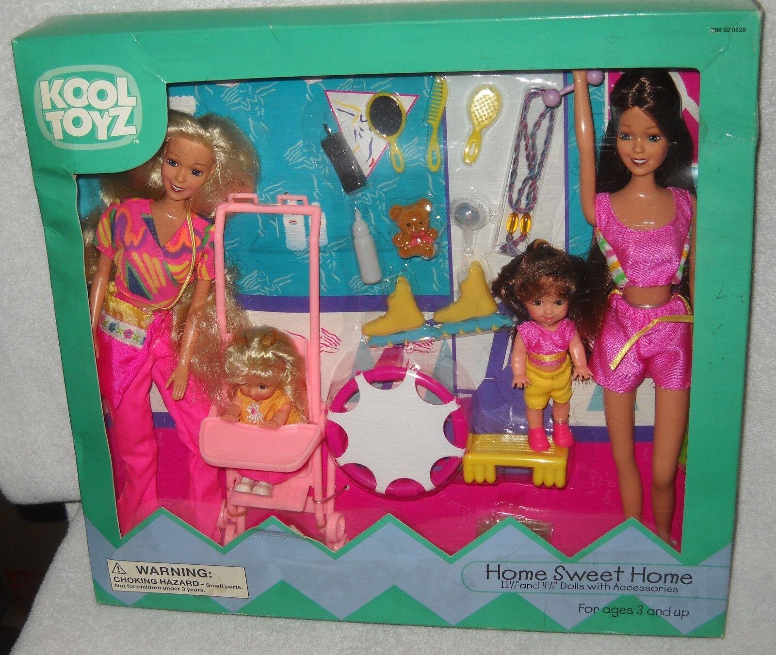 Nunca quitado de la caja de destino tiendas Kool Juguetes Home Sweet Home Fashion Doll Set