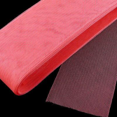 """4 yards Piece  2/"""" Crinoline Trim 5 cm Neon Pink Horsehair Braid"""