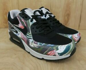 Details about Nike Air Max 90 Marble Black Vast Grey White AO1521 001 Women's Size 7 Rare