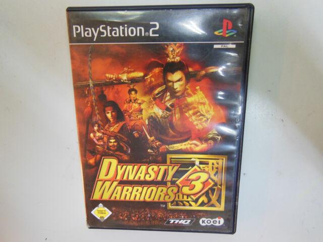 Dynasty Warriors 3 (Sony PlayStation 2, 2002, DVD-Box)