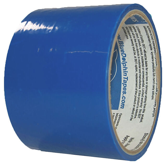 Display Schutzfolie 60mm x 15m blau-transparent Oberflächenschutz selbstklebend