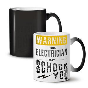 Electrician Shock NEW Colour Changing Tea Coffee Mug 11 oz | Wellcoda