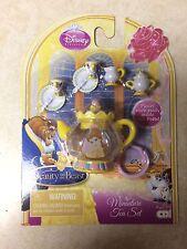 Disney Princess Beauty and the Beast Miniature Tea Set Mrs Potts Key Chain Belle