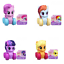 Pinkie Pie Rainbow Dash Applejack My Little Pony Wheel Pals Twilight Sparkle