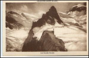 Chamonix-Mont-Blanc-1910-Alpen-CPA-Les-Grands-Mulets