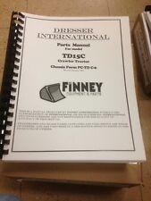 International Dresser Td15c Dozer Crawler Parts Book Manual Bulldozer Td15 C New
