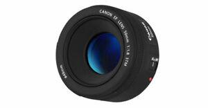 Canon Ef 50mm F/1.8 Focal Length Lens