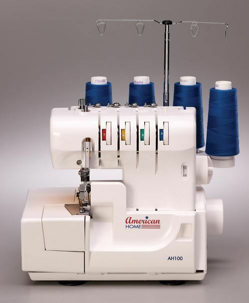 American Home AH40 Ah 40 Serger Sewing Machine EBay Mesmerizing Sergers Sewing Machines
