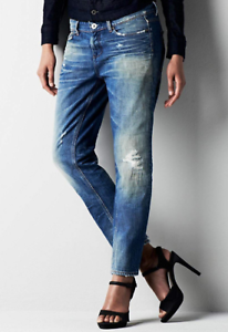 G-Star-Raw-3301-Relaxed-Tapered-Medium-Aged-Jeans-Damen-w27-l32-ref84-17