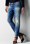 Indexbild 1 - G-Star-Raw-3301-Relaxed-Tapered-Medium-Aged-Jeans-Damen-w27-l32-ref84-28