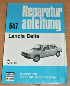 Automobilia Obligatorisch Lancia Delta Ab 1979 Motor Bremsen Kupplung Elektrik Reparaturanleitung B647