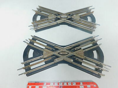 Affidabile By498-1#2x Märklin Scala 0 Incrocio 12/12 Er Cerchio Per Funzionamento Elettrico Top Angurie