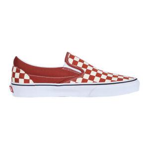 Vans-034-Classic-Slip-On-034-Sneakers-Picante-True-White-Men-039-s-Skateboarding-Shoes
