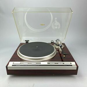 Vintage-Pioneer-PL-707-Direct-Drive-Turntable-Partly-WorkinNeeds-Service-Read