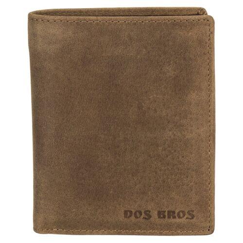 Dos Bros Hunter hommes cuir porte-monnaie porte-monnaie portefeuille db-021