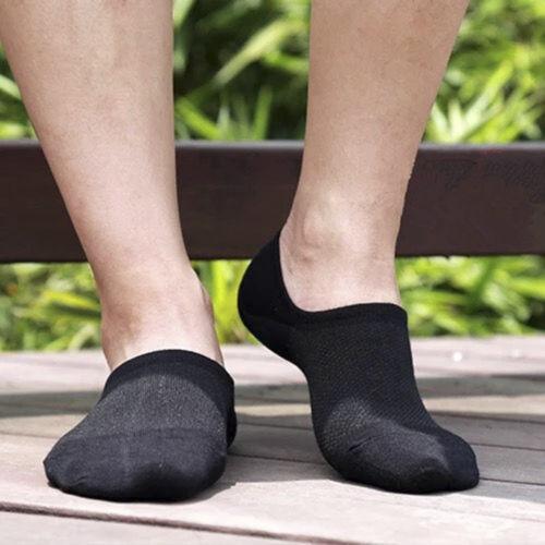 Hommes Femmes Coton Cheville invisible Mocassin Bateau Liner Low Cut No Show Chaussettes Nouveau