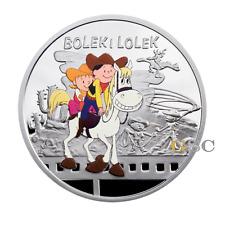 Niue Island 2011 1$ Bolek und Lolek Cartoon Character Serie Silbermünze