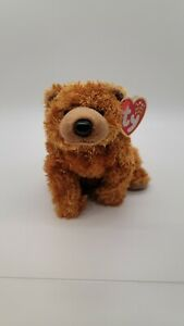 Ty Beanie Babies Sequoia the Bear, retired, rare new, excellent with tags 2001