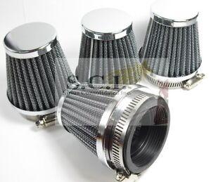 Air Filter 48mm Fit Honda CB400 Kawasaki KZ250 Suzuki GS400 Yamaha DT250 XS400