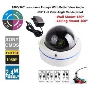 180-360Degree-Fisheye-Indoor-outdoor-Dome-Camera-700TVL-12VDC-with-Power-Adapter