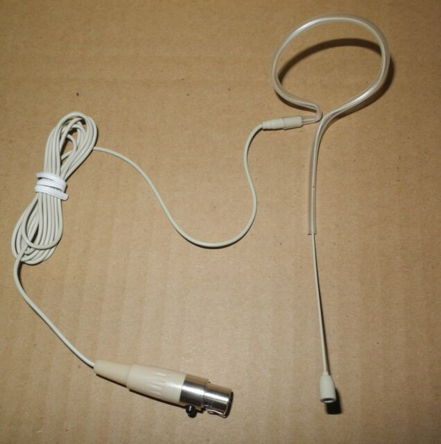 pro beige headset mic microphone for shure wireless system  - skin color