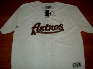 online store 51634 71efa Details about Houston Astros Jersey 3XL Majestic Athletics Home MLB