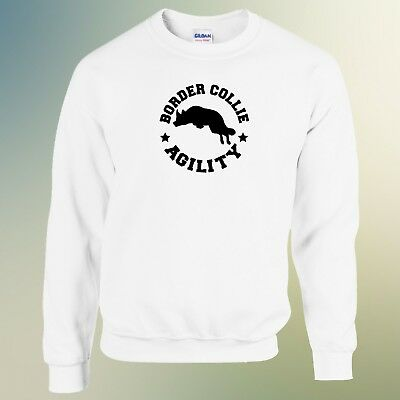 Border Collie Agility Dog Lover Funny Humor Gift Unisex Jumper Sweatshirt Top