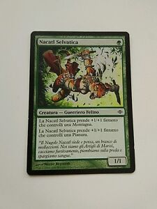 Nacatl-Selvatica-Wild-Nacatl-Shards-of-Alara-Ita-Eng-Mtg-Magic