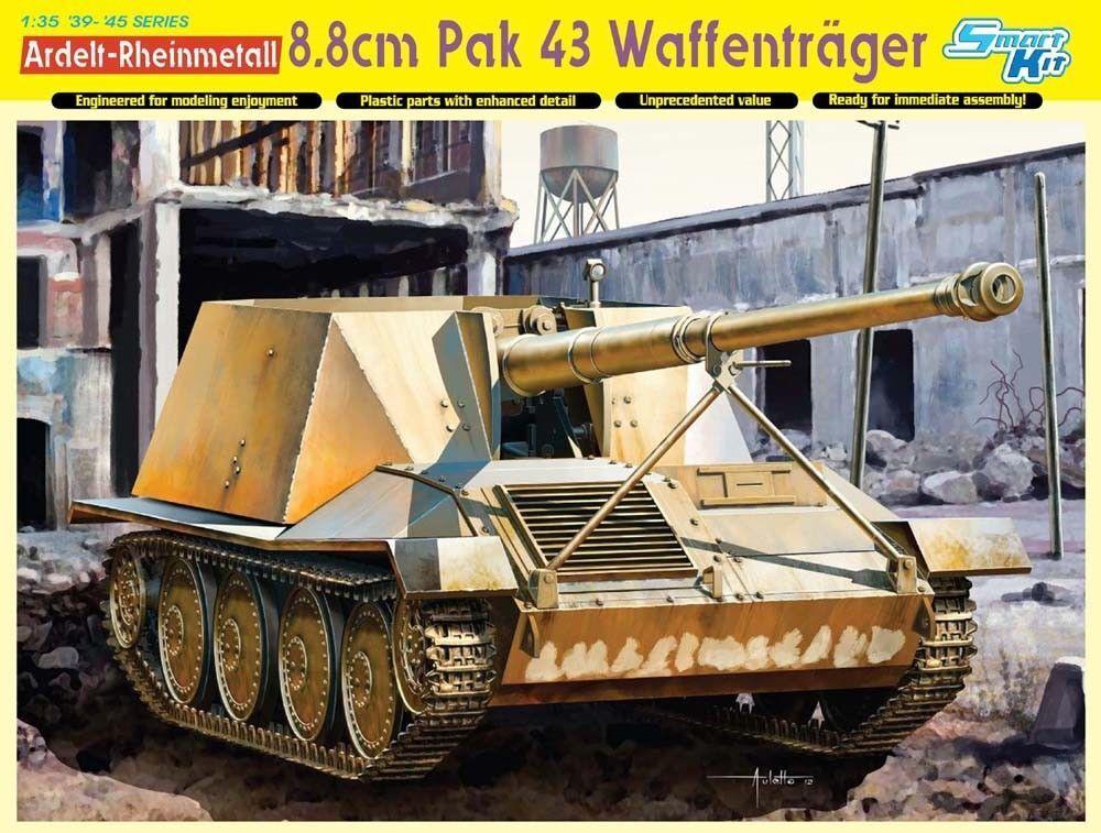 DRAGON 6728  1 35 - ARDELT-RHEINMETAL 8.8CM PAK 43 NEW