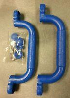 Blue 10 Handles Swing Set, Child Playground, Park, Play House, Playset