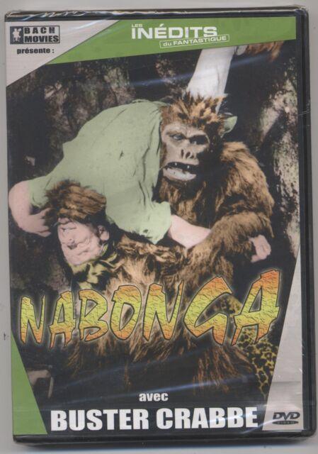 New DVD Nabonga Blister Buster Crabbe Fantastic 1944 Monkey Ersatz King