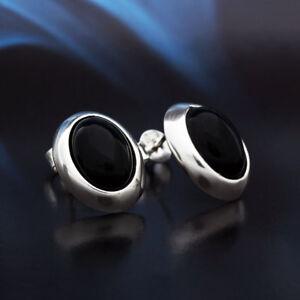 Onyx-Silber-925-Ohrringe-Damen-Schmuck-Sterlingsilber-S250