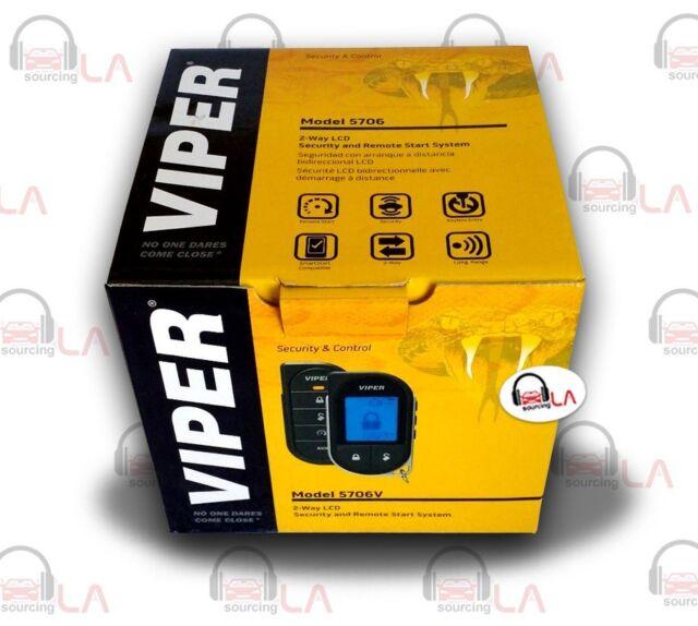 Viper 5706V 2-Way LCD Remote Start/Alarm System W/ 1 Mile
