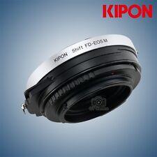 Kipon Shift Adapter for Canon FD Mount CF Lens to Canon EOS M camera